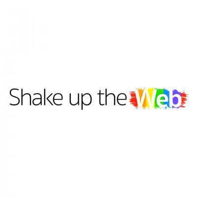 Logo Shake up the Web