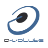 A volute logo